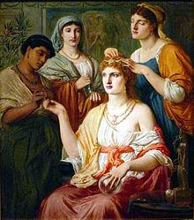 Toletta della matrona romana (da Wikipedia)