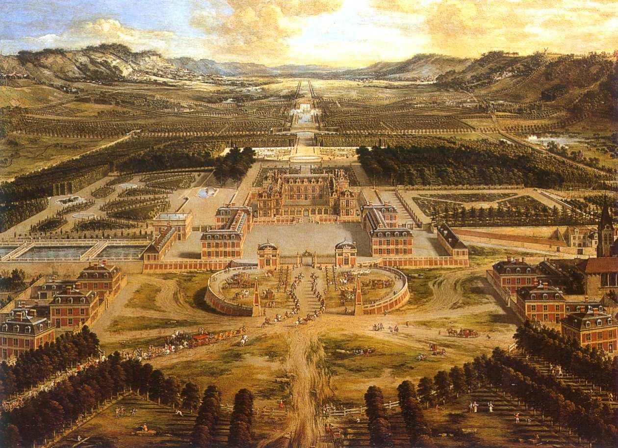 Versailles splendor and dirt for Versailles paris