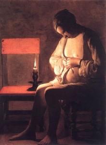 """Sporcizia nel Rinascimento: """"Donna che si spulcia"""" di Georges de la Tour"""