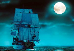 Ricostruzione di La Lune, vascello della flotta di Luigi XIV