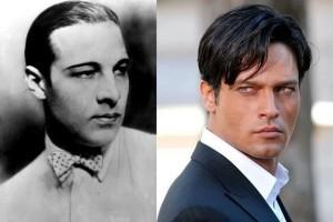 """Il """"vero"""" Rodolfo Valentino e Gabriel Garko"""
