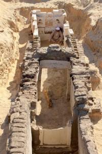 Tomba trovata ad Abydos,Egitto