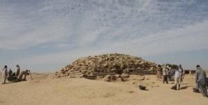 Resti della piramide di Edfu, Egitto (Foto: Tell Edfu Project, University of Chicago's Oriental Institute)