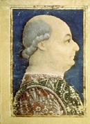 Bellezza nel Medioevo: Francesco Sforza senza tintura