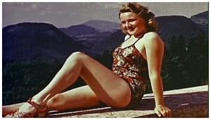 Eva Braun al Berghof