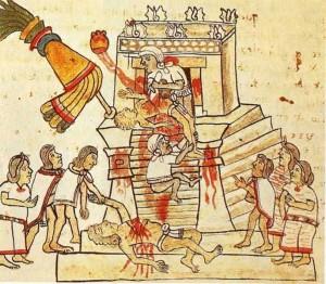 Sacrifici umani presso gli Aztechi
