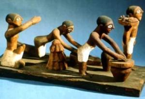 Lavorazione del pane nell'Antico Egitto
