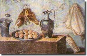 Una cucina dell'Antica Roma