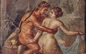 Antichi Romani in atteggiamento intimo