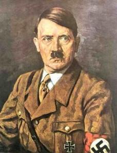 Ritratto di Adolf Hitler