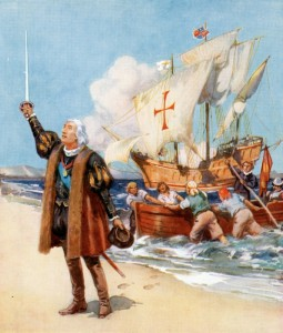 Cristoforo Colombo e la Santa Maria