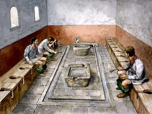 I bagni pubblici dell\'Antica Roma. Come funzionavano