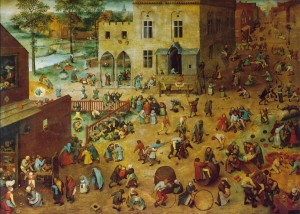 Giochi di bambini, Pieter Bruegel, 1559-60