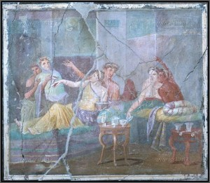 Banchetto dell'Antica Roma