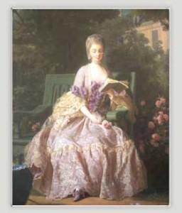 La Principessa di Lamballe, nata Maria Luisa di Savoia Carignano