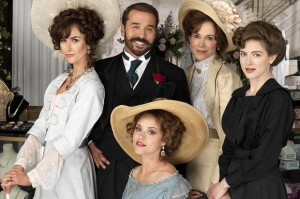 Mr.Selfridge, il cast principale