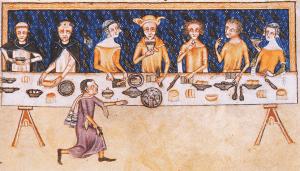Il biancomangiare era una costante dei pasti medievali