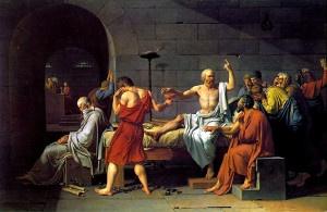 """Morte di Socrate"", Jacques-Louis David"