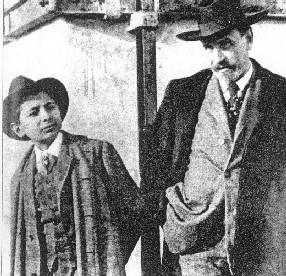 Luigi Pirandello con il figlio Stefano
