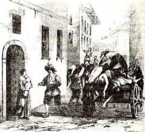La peste nella Milano dei Promesi Sposi