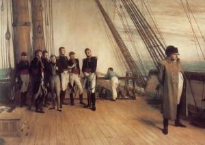 Dopo Waterloo. Napoleone verso Sant'Elena