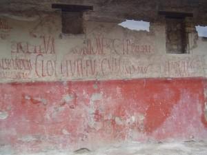 Scritte sui muri di Pompei