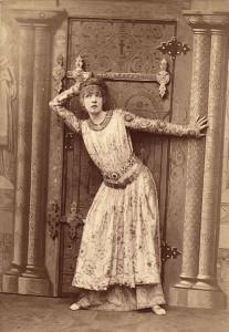 Sarah Bernhardt in scena