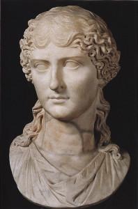 Busto di Agrippina Minore, madre di Nerone