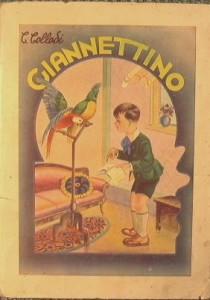 Una edizione di Giannettino, il libro di Collodi in cui si menzionò per la prima volta il Gorgonzola