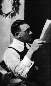 Adolf Hitler. A vent'anni lavorò come pubblicitario per un'agenzia di Vienna