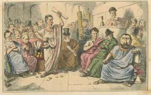 Nell'Antica Roma il divorzio era frequente e facile da ottenere, ma solo per gli uomini
