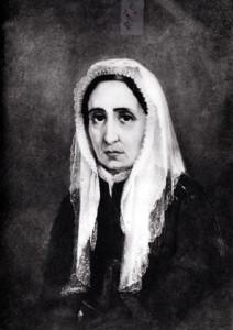 Maria Drago, madre di Giuseppe Mazzini. Dipinto di U.Borzino - Museo del Risorgimento - Genova
