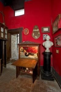 La stanza del castello di Fumone in cui è conservato il bambino mummificato