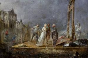 Maria Antonietta condotta alla ghigliottina (dipinto)
