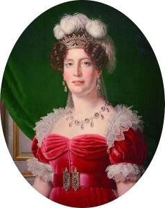 Maria Teresa Carlotta in uno dei pochi ritratti di lei adulta