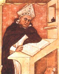 San Alberto Magno. Il santo e filosofo del '200 consigliava di mangiare passeri e pene di lupo contro l'impotenza