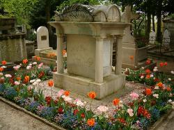 Tomba di Parmentier al Cimitero Père Lachaise di Parigi