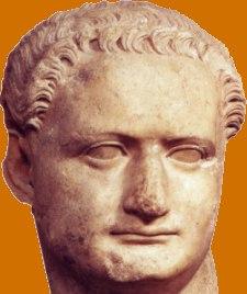 Volto di Domiziano. Uccidere mosche era una delle sue passioni