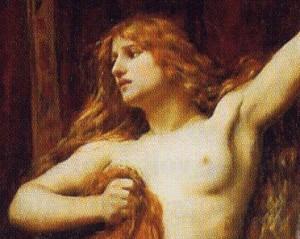 Ipazia d'Alessandria in un dipinto