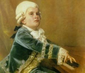 Mozart bambino