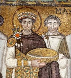 Giustiniano. Fu lui ad introdurre per la prima volta a Roma l'allevamento dei bachi da seta