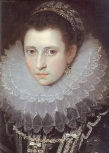 Ritratto postumo di Anna Bolena di Frans Pourbus il Giovane (Pavia)