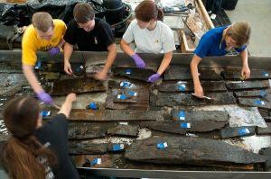 Esperti lavorano all'identificazione dei resti della nave trovata a New York