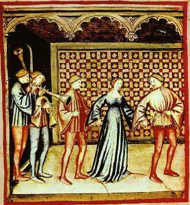 Una tipica danza medievale