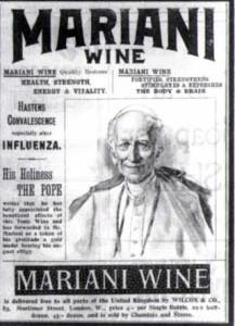 Papa Leone XIII pubblicizza l'amato Vin Mariani
