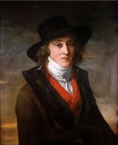 Ritratto di Antoine de Saint-Just (1793)