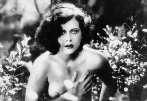 """Hedy Lamarr nella prima scena di nudo del Cinema, nel film """"Estasi"""""""