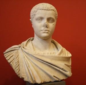 Busto marmoreo di Eliogabalo