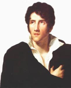 Ritratto di un giovane Alessandro Manzoni. L'artista soffriva di depressione e ansia