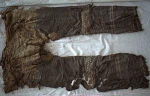 I pantaloni antichi ritrovati in Cina